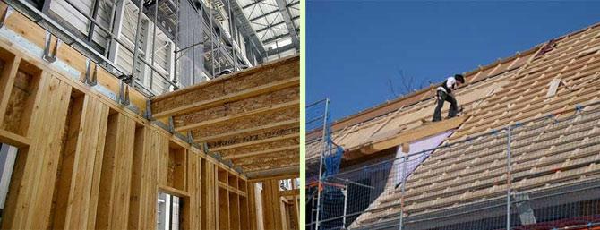 Exotické drevo pre stavebníctvo